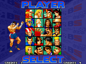 Real Bout Fatal Fury Special Neo Geo After seeing the brief tutorial, it's time to choose a fighter and go battle!