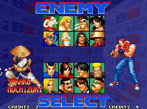 Real Bout Fatal Fury Special Neo Geo Who will be your first victim-er, challenger? :-D
