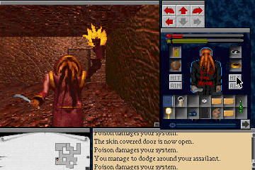 the legacy realm of terror screenshots for dos mobygames