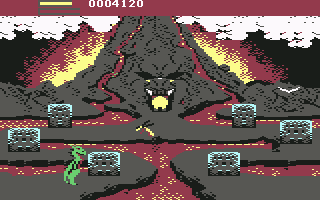 AAARGH! Commodore 64 Headed for the volcano temple