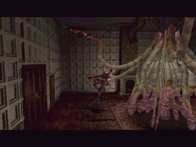Resident Evil Windows Battle with Plant 42 altered by T-virus
