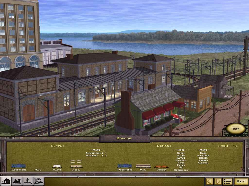 Railroad Tycoon II: The Second Century Screenshots for