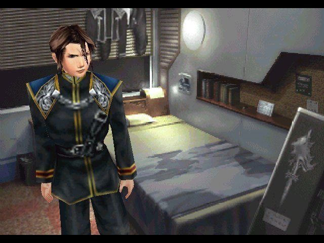 Final Fantasy VIII Windows Our hero up close and personal in actual gameplay.