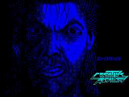 Sláine, the Celtic Barbarian ZX Spectrum Loading screen