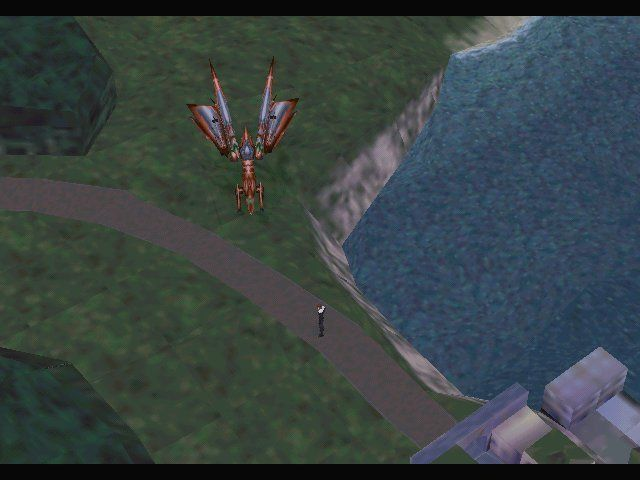 Final Fantasy VIII Windows When on global map, you can save at any point.