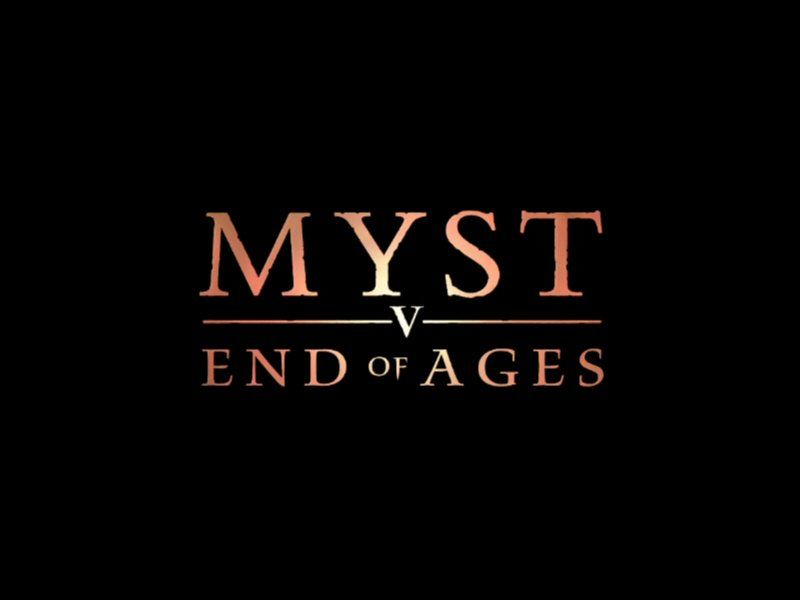 Myst V: End of Ages Windows Title Screen