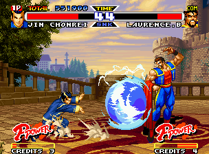"Real Bout Fatal Fury Special Neo Geo After have found a great opportunity, Chonrei makes a Teio SyukMyo Ken in a ""static"" Laurence Blood."