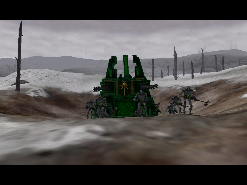 Warhammer 40,000: Dawn of War - Winter Assault Windows Another new race - The Necrons