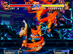 Real Bout Fatal Fury 2: The Newcomers Neo Geo Wind-stunning hits