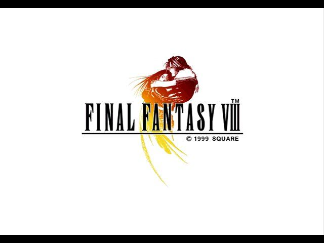 Final Fantasy VIII Windows Title screen