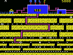 Oil's Well MSX You may need to travel a windy path to reach oil a the bottom of the screen