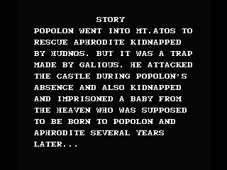 Knightmare II: The Maze of Galious MSX Story Synopsis