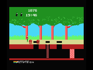 Pitfall! MSX Jump over the lumber