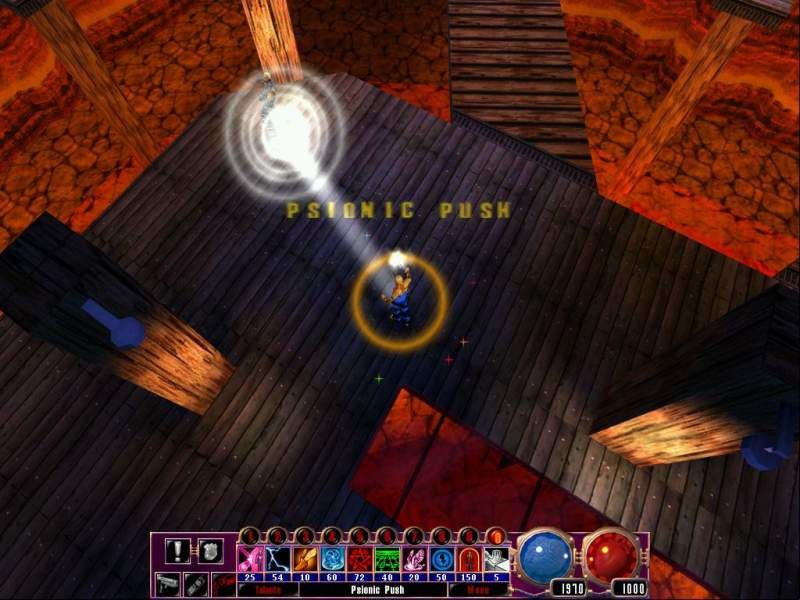 Sanity: Aiken's Artifact Windows Psionic Push