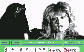 Samantha Fox Strip Poker Commodore 64 Winning so far...