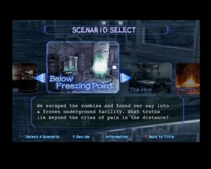 Resident Evil Outbreak Logo Game is Split Into Five