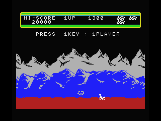 Moon Patrol MSX Crashed!