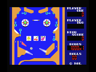 Rollerball MSX Earn points with the slot machine