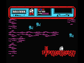 Starquake MSX Don't fall to deep... it will hurt!