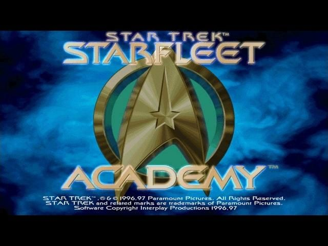 Star Trek: Starfleet Academy Windows Title Screen