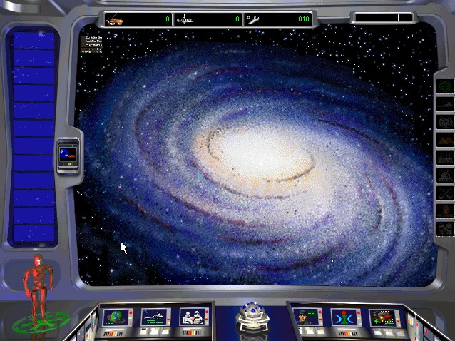 Star Wars: Rebellion Windows Main control screen