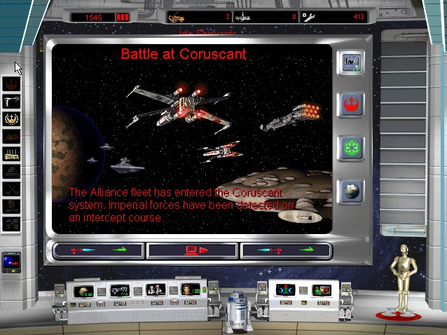 Star Wars: Rebellion Windows Battle for capial