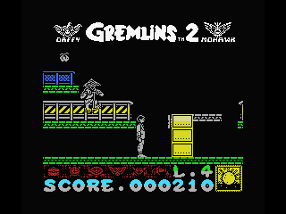 Gremlins 2: The New Batch MSX Catch the gremlins