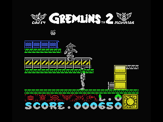 Gremlins 2: The New Batch MSX Watch your back