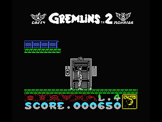 Gremlins 2: The New Batch MSX Ready? Go!