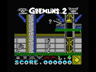 Gremlins 2: The New Batch MSX Use the elevator