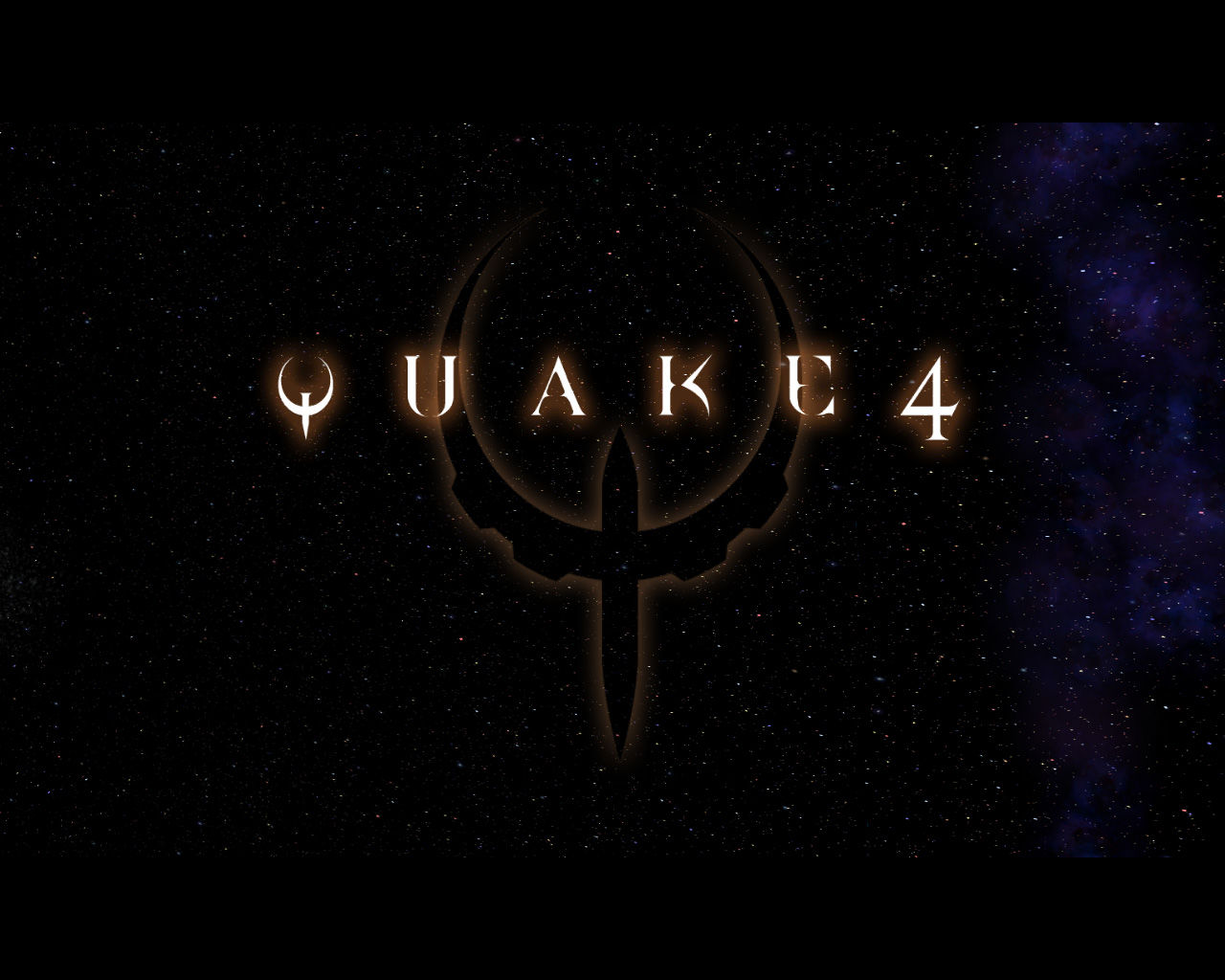 Quake 4 Windows Title Screen.