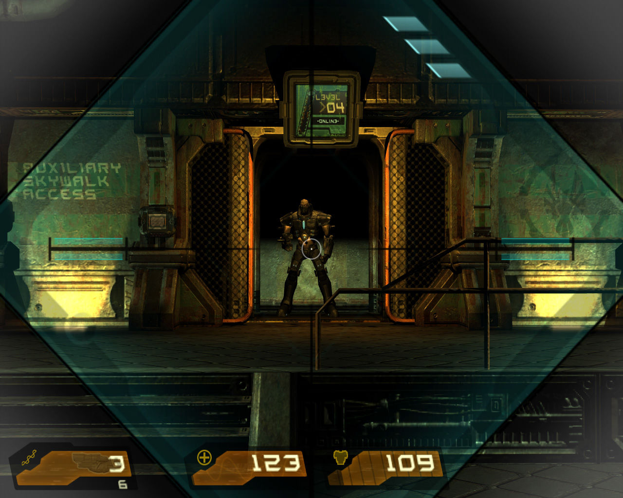 Quake 4 Windows Railgun (Zoom).