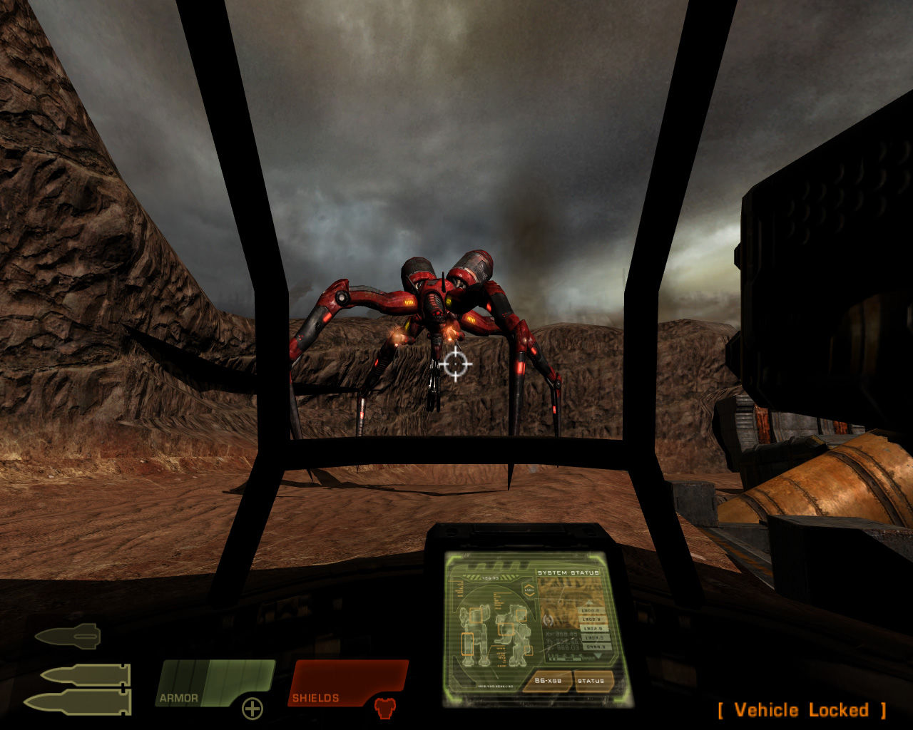 Quake 4 Windows Battle with Harvester.