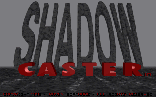 ShadowCaster DOS Title Screen