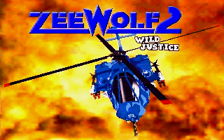 Zeewolf 2: Wild Justice Amiga Title screen