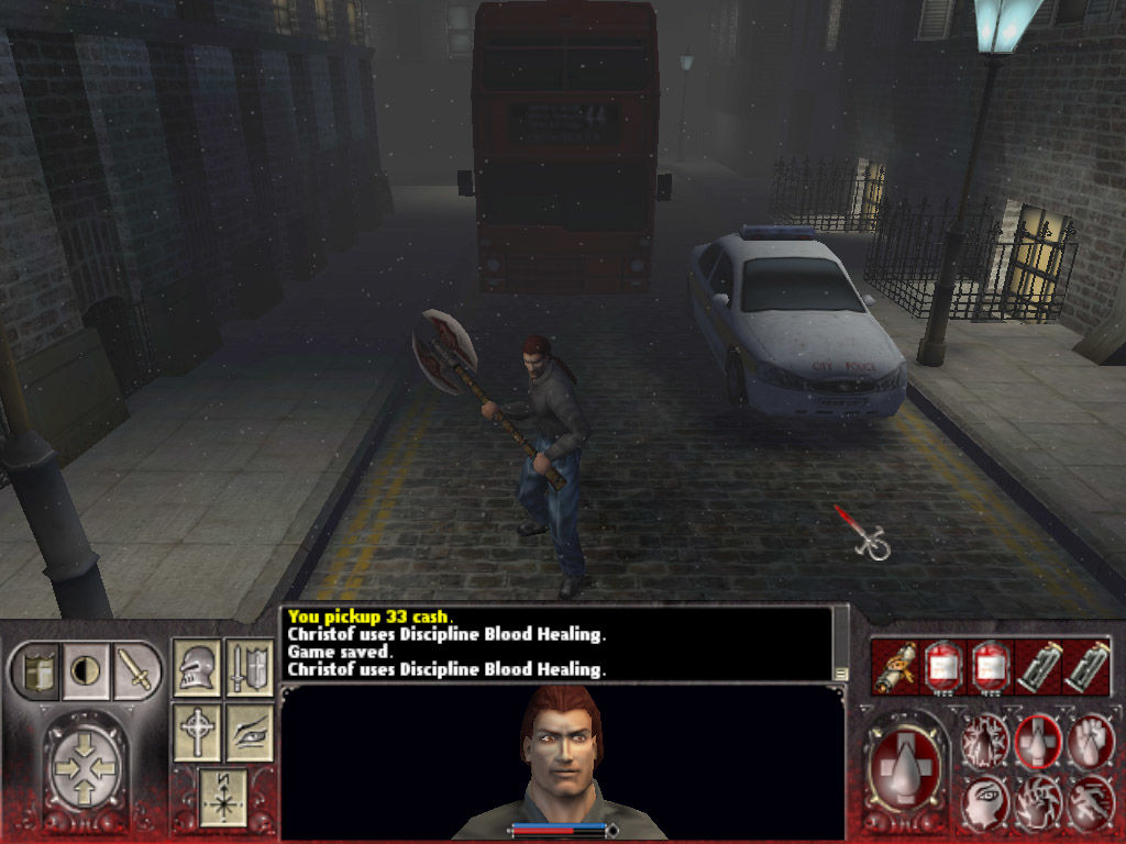 Vampire: The Masquerade - Redemption Windows Fresh from the dark ages, Christof finds himself stuck in modern-day London