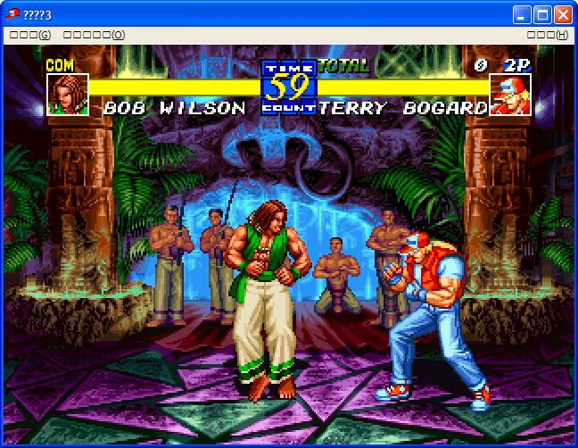 Fatal Fury 3: Road to the Final Victory Windows In Game