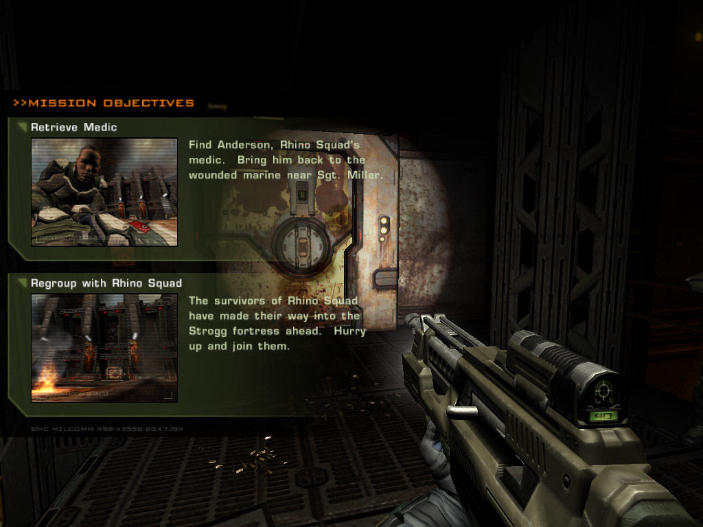 Quake 4 Windows Mission objectives updated