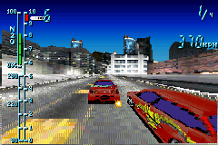 Need for Speed Underground Game Boy Advance Drag Race dispute: even with a speed of 370 km/h, the opponent(s) insists in take your leadership!