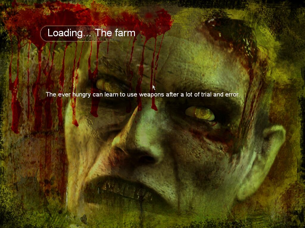 Land of the Dead: Road to Fiddler's Green Windows Loading Screen (each one has helpful hints)