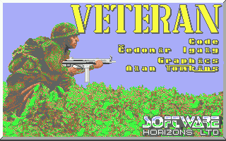Veteran Atari ST Loading screen