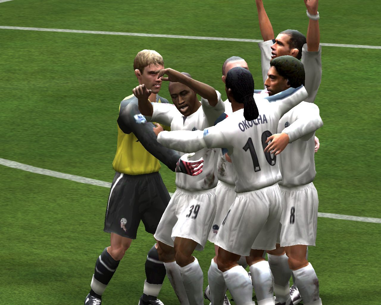 FIFA Soccer 06 Windows Cutscene after we scored a goal