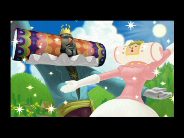 We Love Katamari PlayStation 2 Introduction: the King and Queen of all Cosmos
