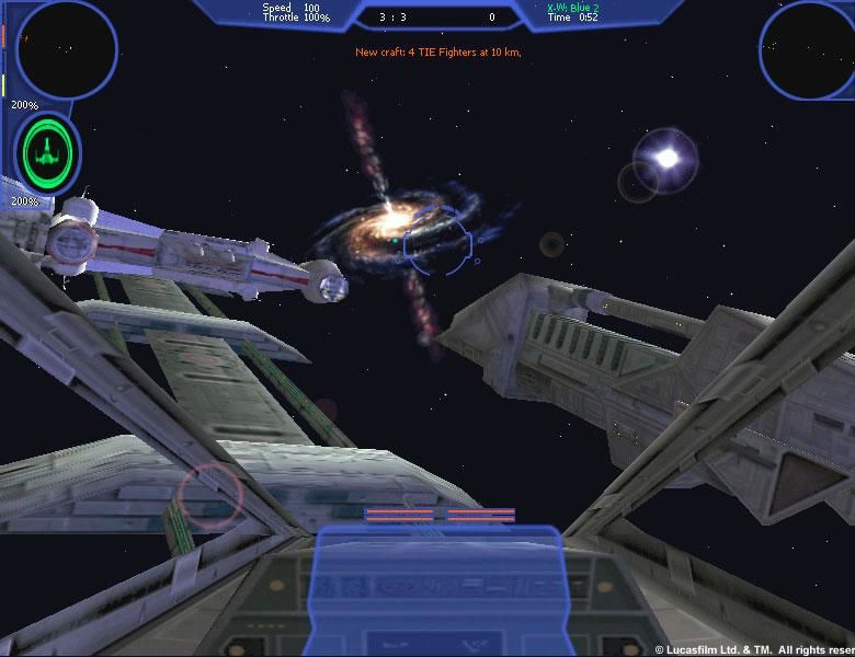 Star Wars: X-Wing Alliance Windows The beauty of space