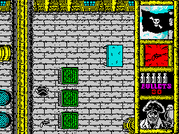 Black Beard ZX Spectrum Something to pick up