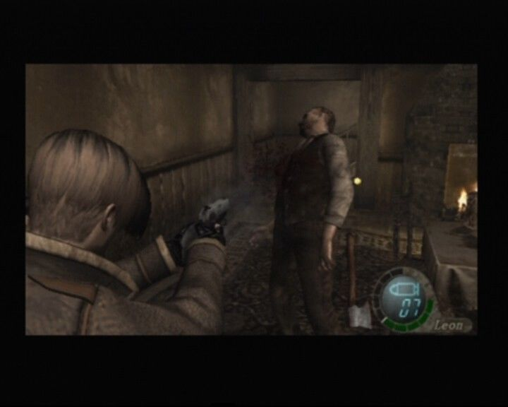Resident Evil 4 PlayStation 2 You!! Axe!! Shoot!! Bah... all I asked for is direction, you misfit!