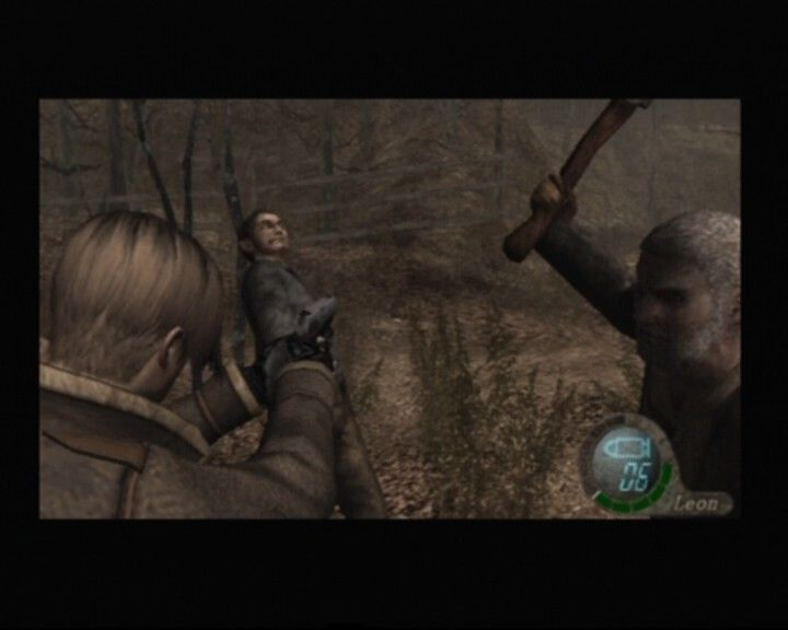 Resident Evil 4 PlayStation 2 Easy people, there's plenty of bullets for everyone