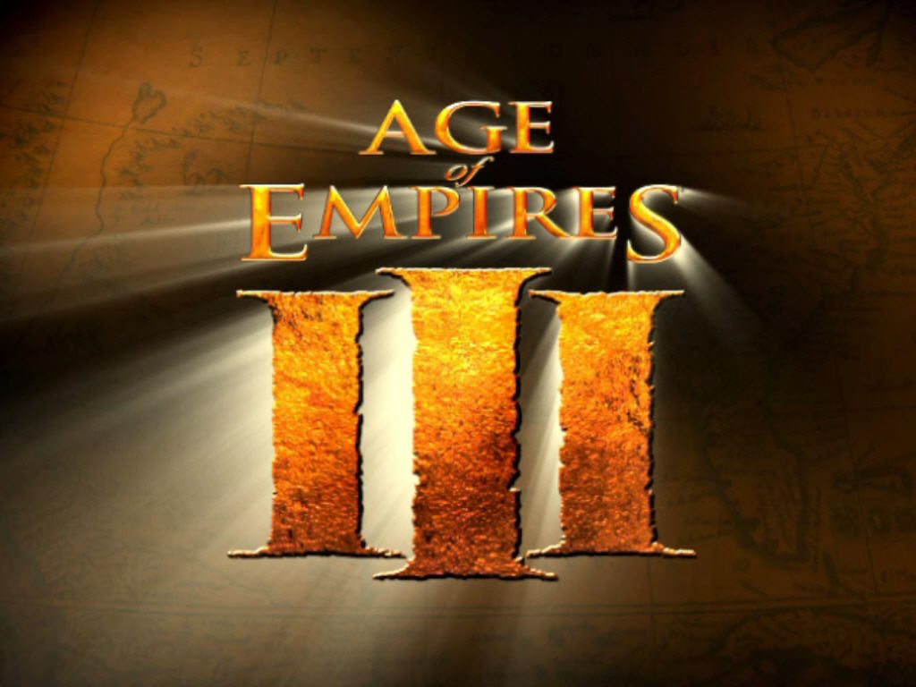 Age of Empires III Windows Title Screen.