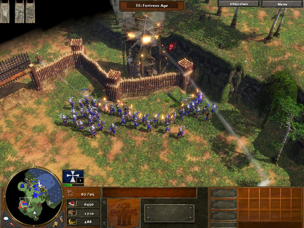 Age of Empires III Windows Siege.