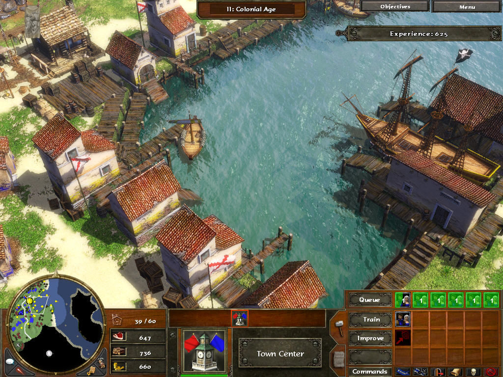 Age of Empires III Windows Havana.